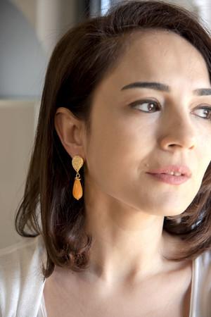 SHOW TIME - SUNFLOWER - Drop Earrings (1)
