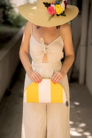 HAPPY SEASONS - SUNSHINE - Clutch Çanta (1)