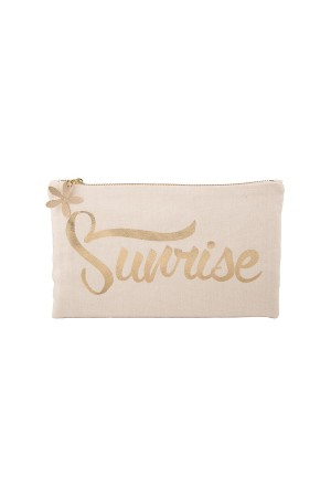 HAPPY SEASONS - SUNSHINE GOLD - Pouch Bag