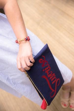 SUNSHINE RED - Bez Çanta - Thumbnail