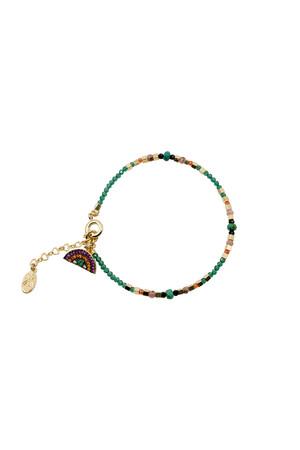 PLAYGROUND - SURPRISE - Jade Breaded Bracelet