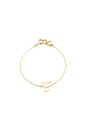 PETITE JEWELRY - T - Letter Bracelet
