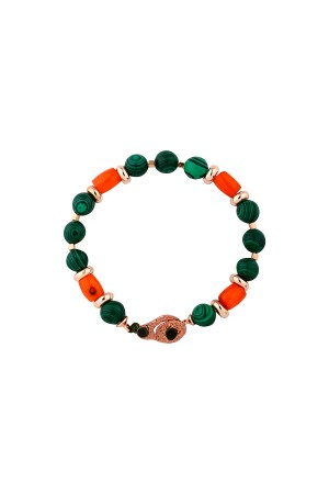 COMFORT ZONE - TALIA - Natural Malachite Bracelet