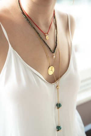 PLAYGROUND - TARA - Lotus Flower Necklace (1)