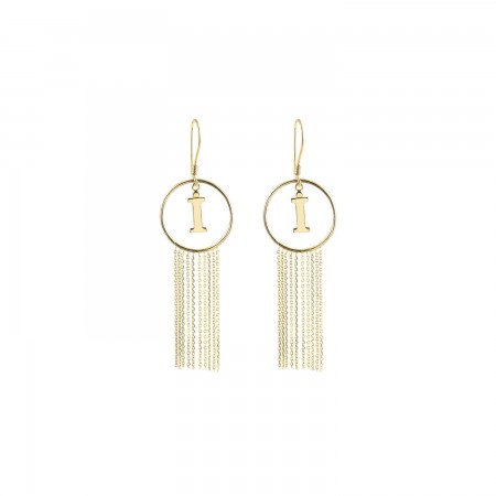 PETITE JEWELRY - TASSEL - Letter Earrings