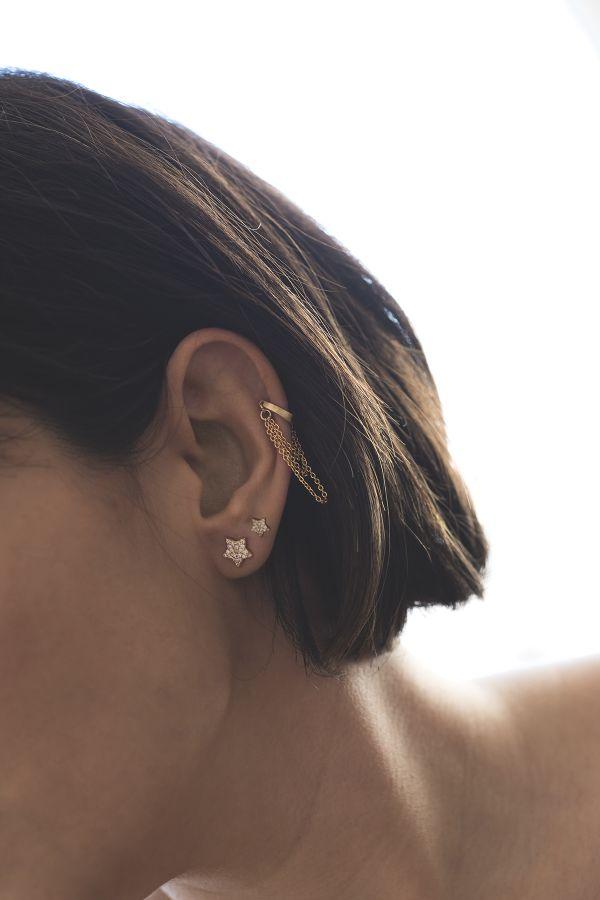TASSEL - Zincirli Kulak Aksesuarı