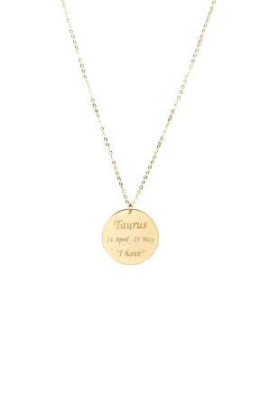 PETITE JEWELRY - TAURUS - Personalized Star Sign Necklace (1)