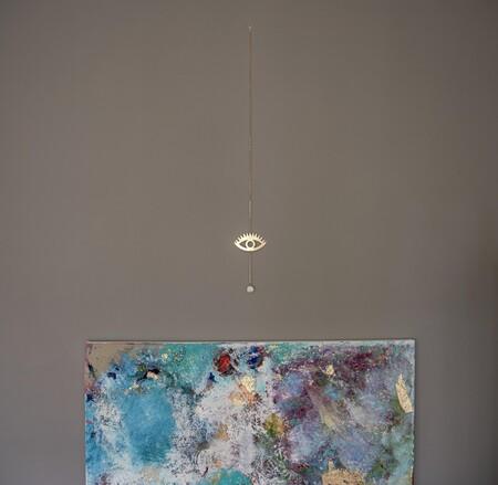 PETITE MAISON - TEAR DROP - Brass Wall Hanging