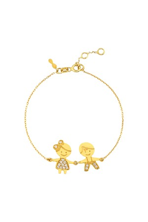 PETITE FAMILY - THE HAPPIEST - Boy and Girl Bracelet