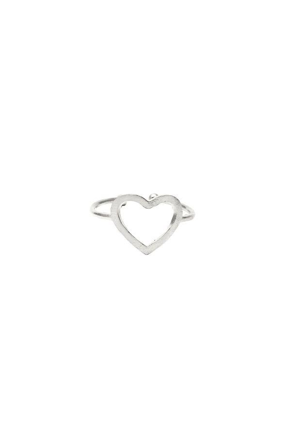 THE HEART SILVER - Gümüş Kaplı Yüzük
