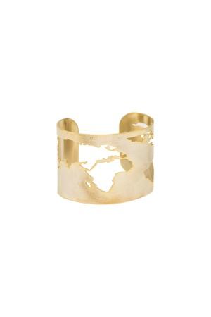 PLAYGROUND - THE WORLD - Cuff Bracelet