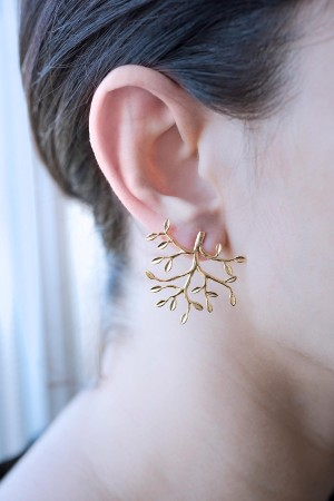 PLAYGROUND - THIN BRANCH - Stud Earrings (1)