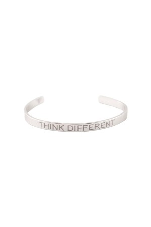 COMFORT ZONE - THINK DIFFERENT - Motto Bracelet