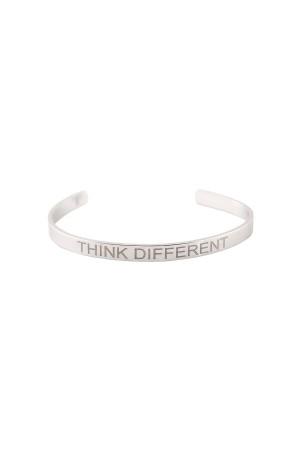 COMFORT ZONE - THINK DIFFERENT - Yazılı Bileklik