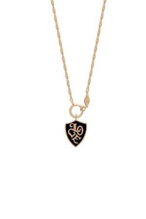 SHOW TIME - THRONE - BLACK - Medaillon Necklace (1)
