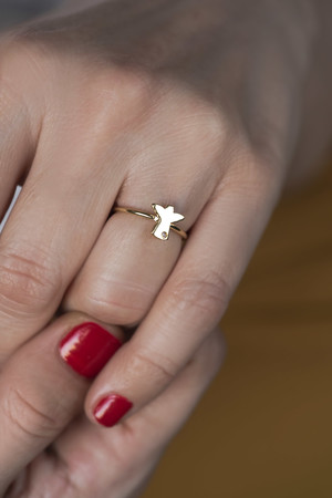 PLAYGROUND - TINY ANGEL - Dainty Ring (1)