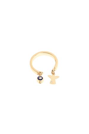 PLAYGROUND - TINY ANGEL - Dangling Ring