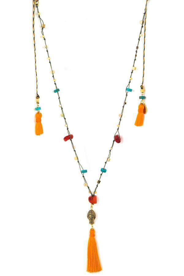 TINY BUDDHA - Boho Braided Necklace