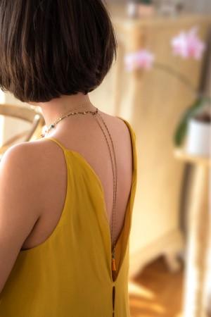 TINY BUDDHA - Boho Braided Necklace - Thumbnail
