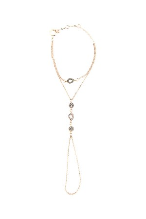 COMFORT ZONE - TINY DIAMONDS - Finger Chain