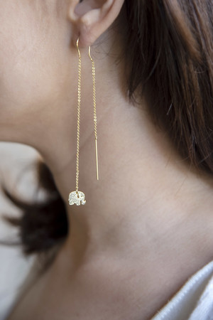 PLAYGROUND - TINY ELEPHANT - Mono Earring (1)