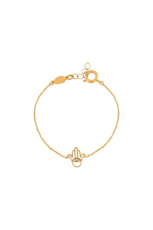 COMFORT ZONE - TINY FATIMA - Chain Bracelet