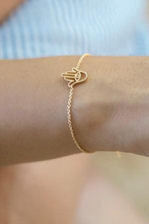 COMFORT ZONE - TINY FATIMA - Chain Bracelet (1)