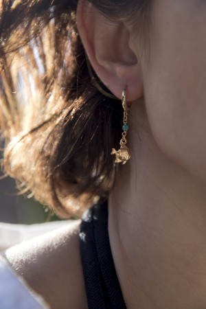 PLAYGROUND - TINY FISH - Asymmetrical Earrings (1)