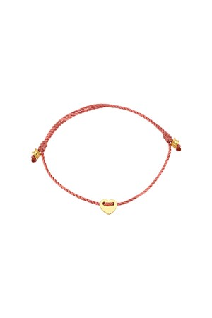 PETITE JEWELRY - TINY LOVEFUL - PINK - String Bracelet