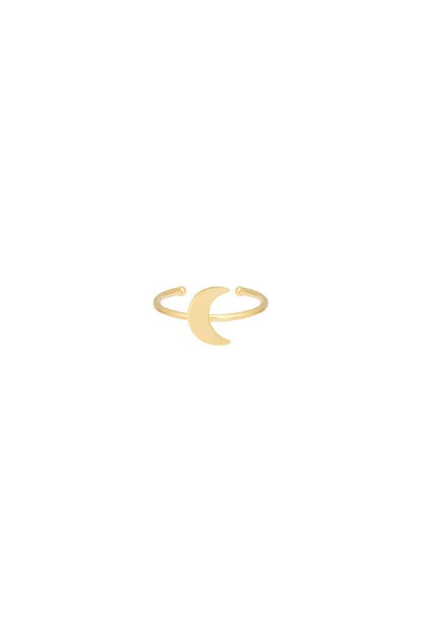 TINY MOON - Altın Kaplama Yüzük