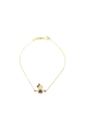 PETITE FAMILY - TINY PINKY LOLA - Dainty Girl Bracelet