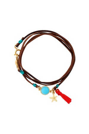 PLAYGROUND - TINY STARFISH - Wrap Bracelet