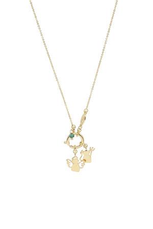 PLAYGROUND - TINY MINI - Devil Angel Pendant Necklace