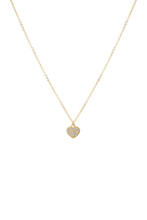 COMFORT ZONE - TINY ROMANCE - Minimal Heart Necklace