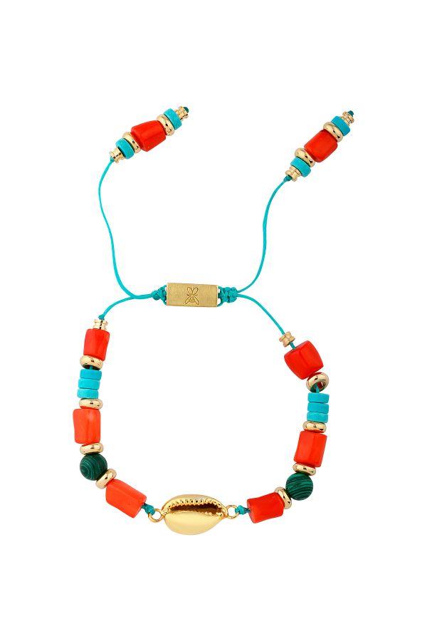 TO THE BEACH - Natural Seashell Bracelet