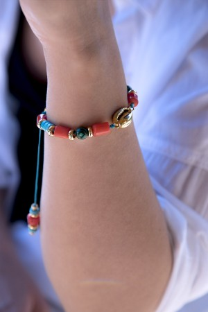 PLAYGROUND - TO THE BEACH - Natural Seashell Bracelet (1)