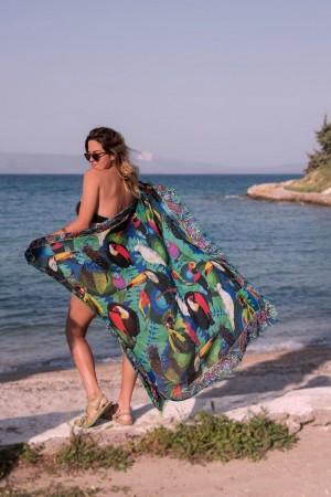 HAPPY SEASONS - TOUCAN - Beach Cover up