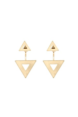 COMFORT ZONE - TRIANGLES - Geometric Earjackets