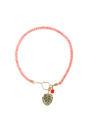 PLAYGROUND - TROPIC - Palm Leaf Pendant Necklace