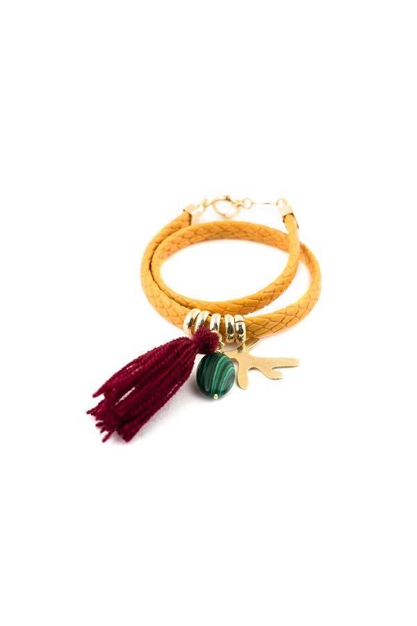 TROPICAL CORAL - Wrap Bracelet