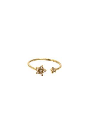 COMFORT ZONE - TWINKLE STAR GOLD - Ayarlanabilir Yüzük
