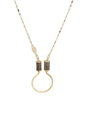 PETIT CHARM - TWINS CURB - Charm Necklace