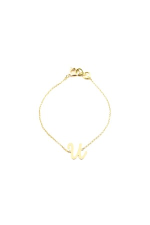 PETITE JEWELRY - U - Letter Bracelet