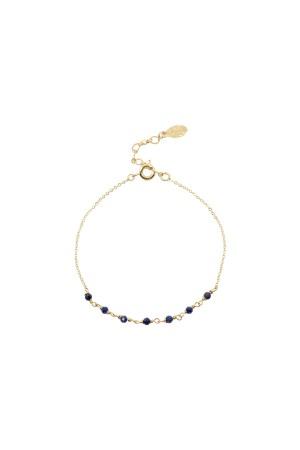 COMFORT ZONE - ULTRAMARINE - Natural Lapis Lazuli Bracelet