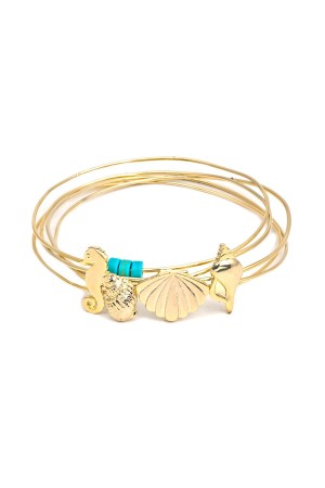 PLAYGROUND - UNDER THE SEA - Stackable Bangle Bracelets