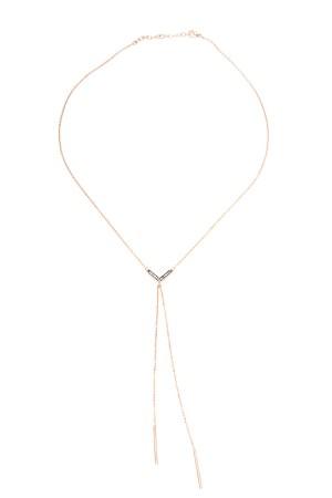COMFORT ZONE - V BARS - Y Necklace