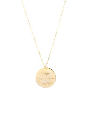 PETITE JEWELRY - VIRGO - Zodiac Star Sign Necklace (1)