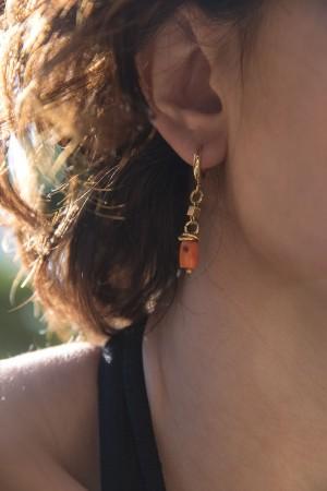 COMFORT ZONE - WARM - Hoop Earrings (1)
