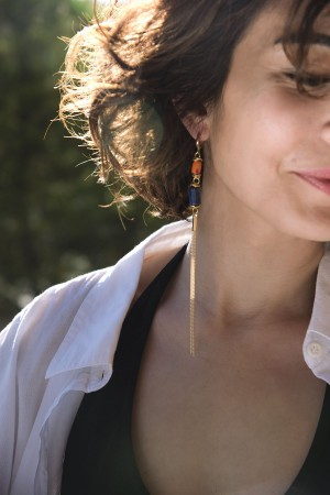 COMFORT ZONE - WATERFALL - Dangling Earrings (1)