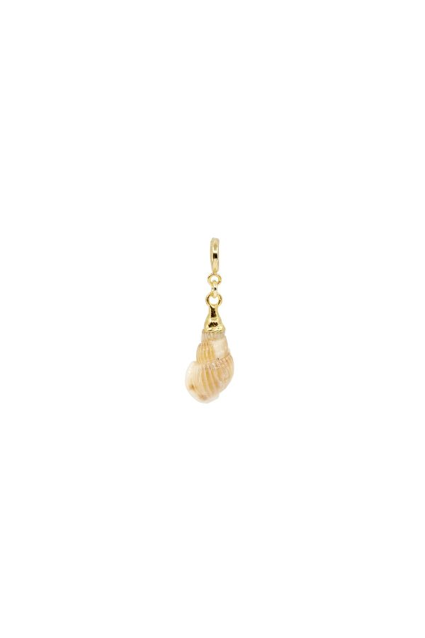 WAVE - Natural Conch Shell Charm